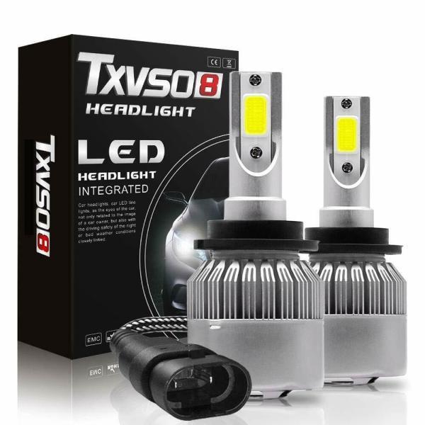 LED Headlight Bulb Conversion Kit D2S D4S 55W Car Lamp Light 6000K Pure White 1