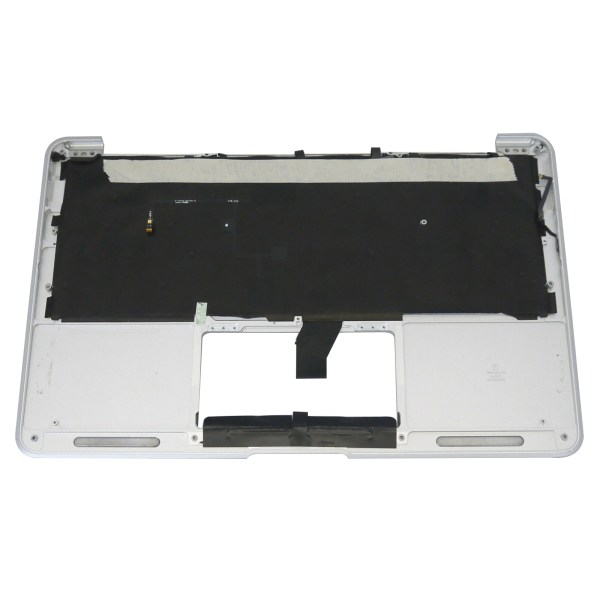 """Replacement US Keyboard Compatible for MacBook Air A1465 11"""" 2012 Year Top Case with Silver C Shell (No Trackpad) 2"""