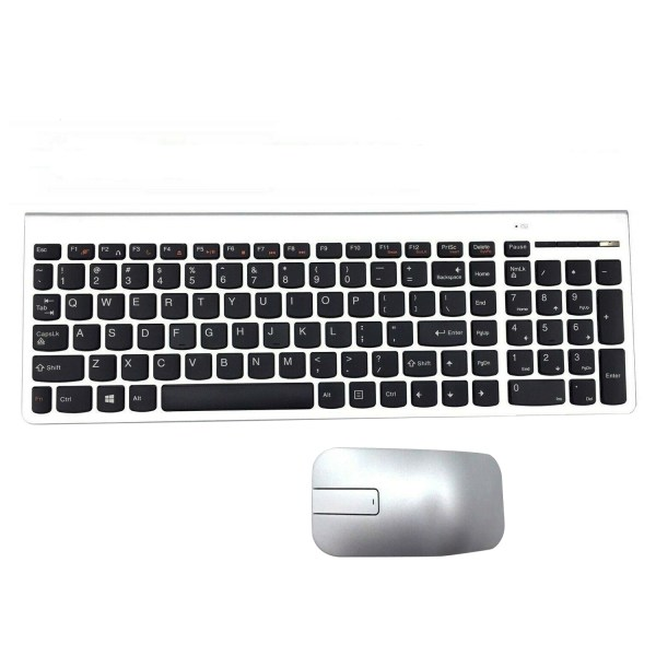 Wireless Keyboard Mouse Combo for Lenovo IBM US Keyboard SK-8861, Touch Mouse ZTM600 1