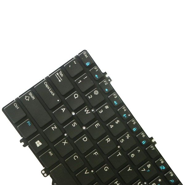 Replacement Keyboard for Dell Latitude 5280 5289 7280 7290 7380 7389 7390 Laptop No Frame 7