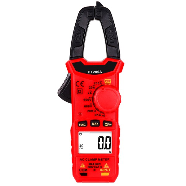 Digital Clamp Meter for AC/DC Voltage, AC Current, Resistance, Continuity, Diode Mini Multi Meter 1