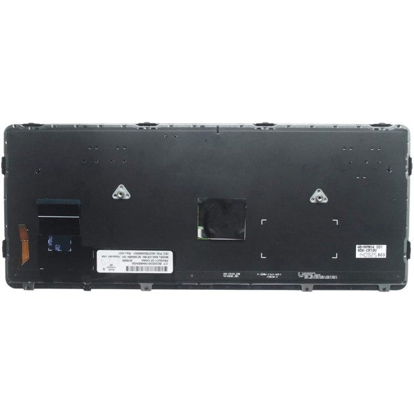 Replacement Keyboard for HP EliteBook 720 G1 / 720 G2 / 725 G1 / 725 G2 / 820 G1 / 820 G2 Laptop with Pointer Backlight 2