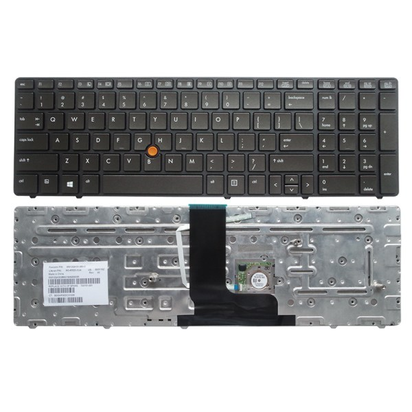 Replacement Keyboard for HP EliteBook 8760w 8770w Laptop with Pointer 1