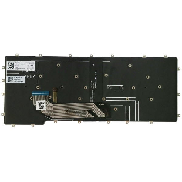 Replacement Keyboard for Dell Latitude 7400 2-in-1 Laptop No Frame 2
