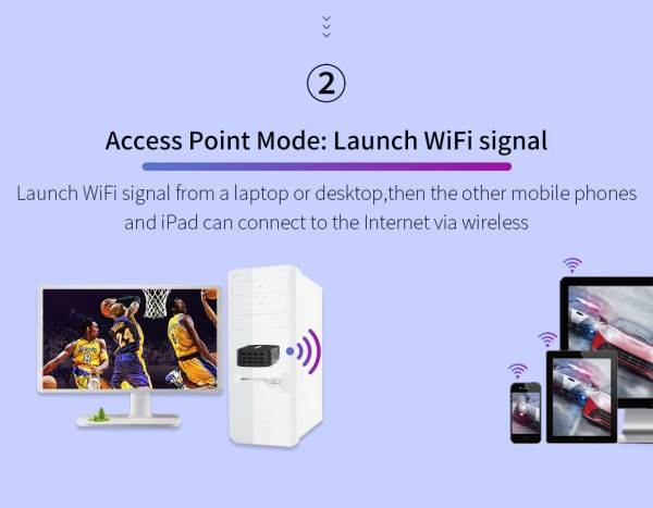 Mini USB 3.0 WiFi Adapter, Wireless Network Card 1300Mbps Ethernet Receiver 2.4/5.8GHz Dual Band 4
