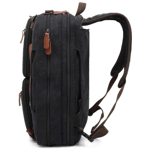 Convertible Backpack Briefcase Messenger Bag 15.6 Inch Laptop Tablet Carrying Case Shoulder Bag Waterproof 3