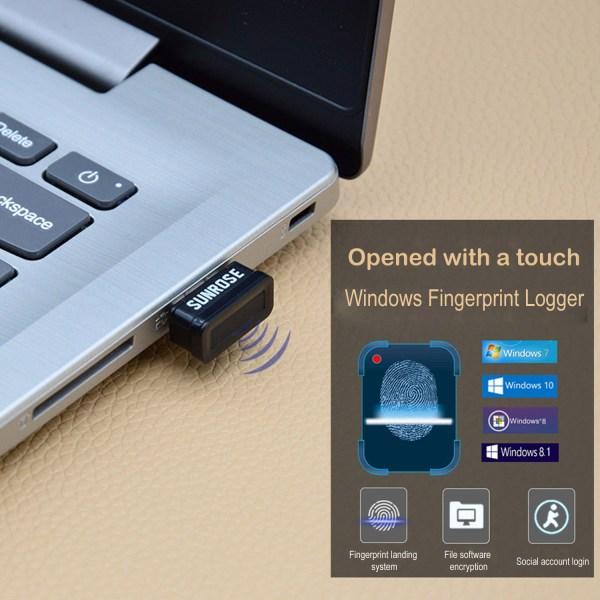 USB Fingerprint Reader for Windows 10 Hello Encryption Fingerprint Identification Scanner Sensor 2