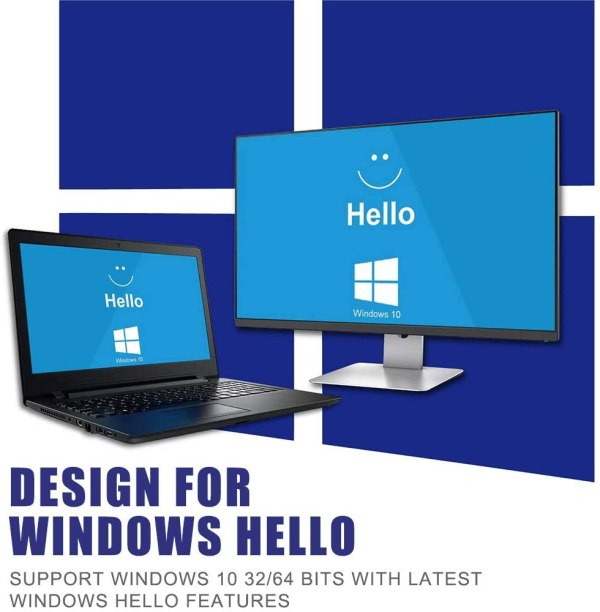 USB Fingerprint Reader, Laptop PC Fingerprint Identification Windows Hello Encryption For Windows 10 5