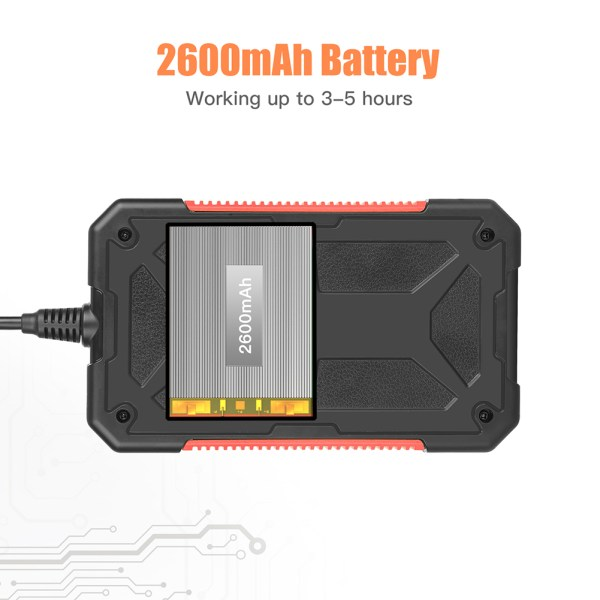 Industrial Endoscope 4.3 inch LCD Screen 1080p HD Borescope Inspection Camera with 32GB TF Card (16.4ft/5m) 8