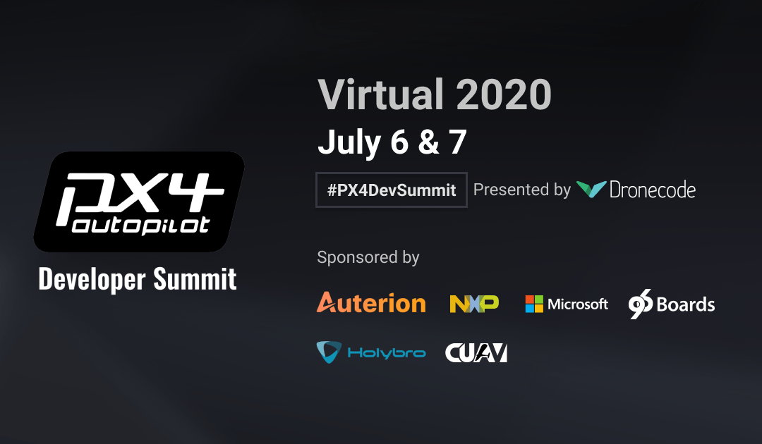 Auterion at the PX4 dev summit 2020