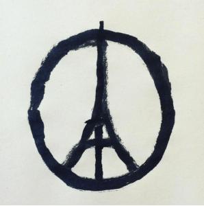 Logo peace for Paris Jean Julien