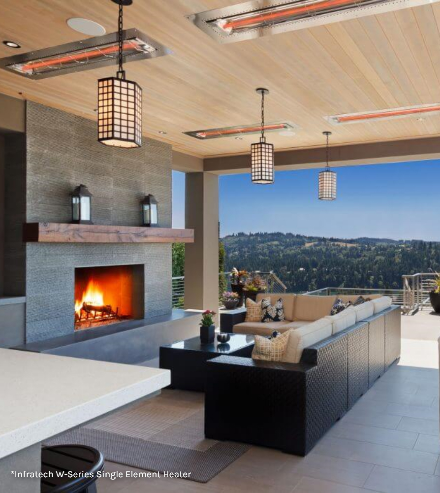 infratech outdoor heaters patio