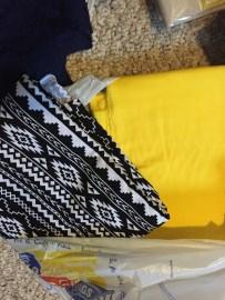 Fabrics from Hobby Lobby