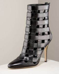 Manolo Blahnik Cage Boot