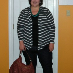 Outfit of the day: stripes