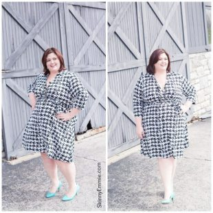 INC Houndstooth Dress