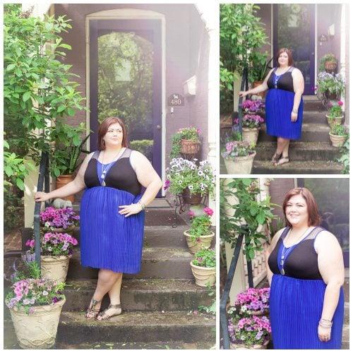 Emmie in Lucie Lu dress from Gwynnie Bee