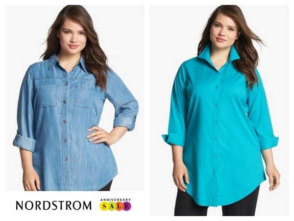 Nordstrom Sale Plus Size Blouses