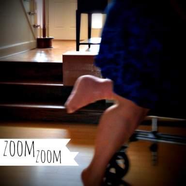 on knee walker