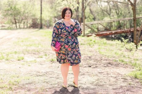 ASOS Curve Floral Dress