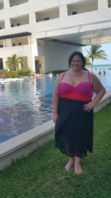 Authentically Emmie in a Lane Bryant Swimsuit