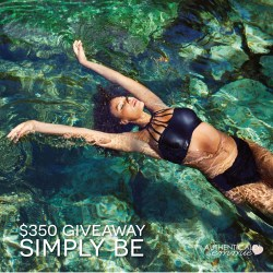 Day 5 Giveaway: Simply Be (CLOSED)