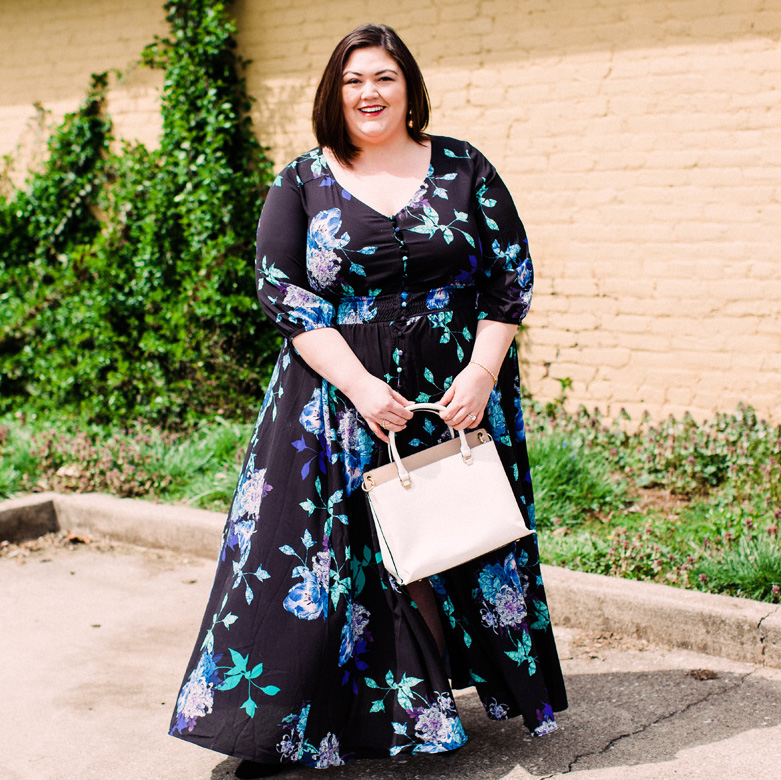 City Chic Plus Size Maxi on Authentically Emmie