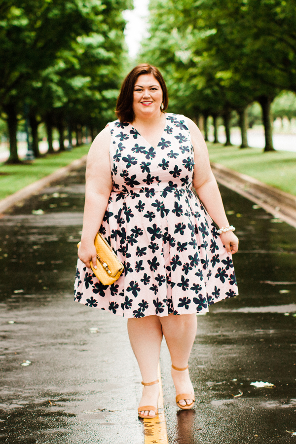 Plus size southern blogger Authentically Emmie shares some of her favorite styles from the Draper James for ELOQUII #plussize collection. #ootd #draperjames