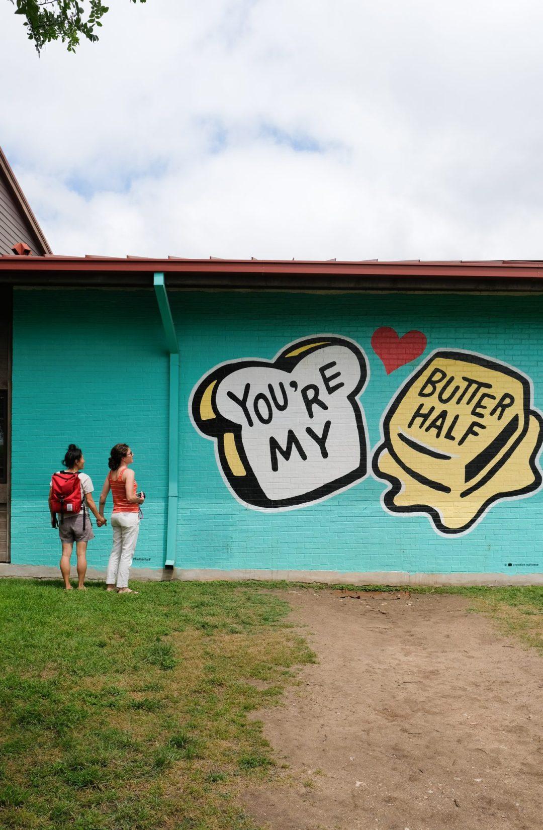 Mural art in Austin, Texas