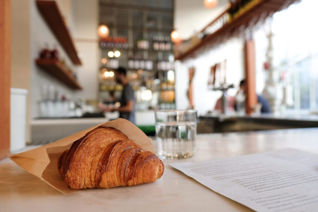 Croissant at Tartine Manufactory in San Francisco