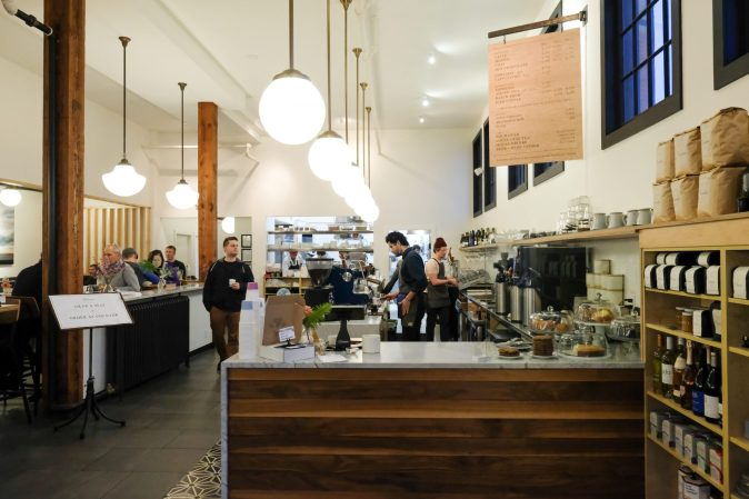 inside Camber Coffee