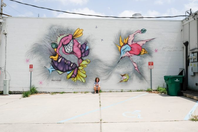 Mural art by Hollis + Lana in New Orleans, Louisiana