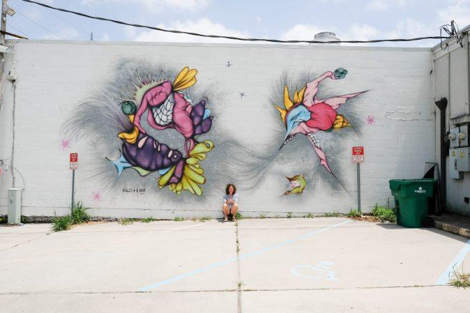 Mural art by Hollis + Lana in New Orleans, Louisiana