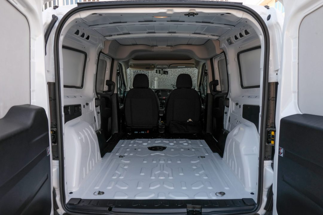 interior of the Ram ProMaster 2018 Van