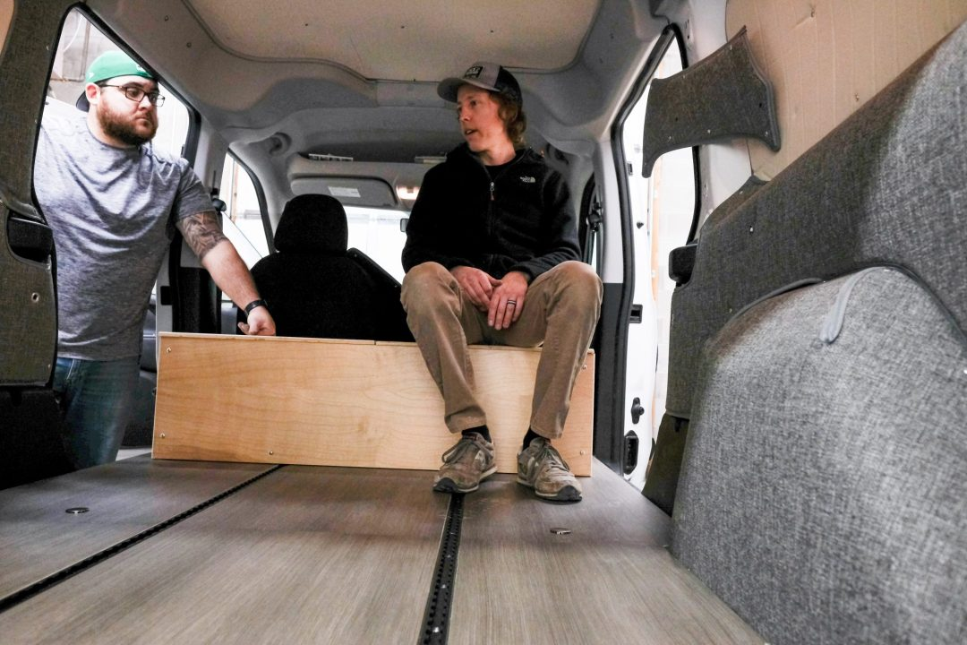 Wayfarer Van Life Conversion 10