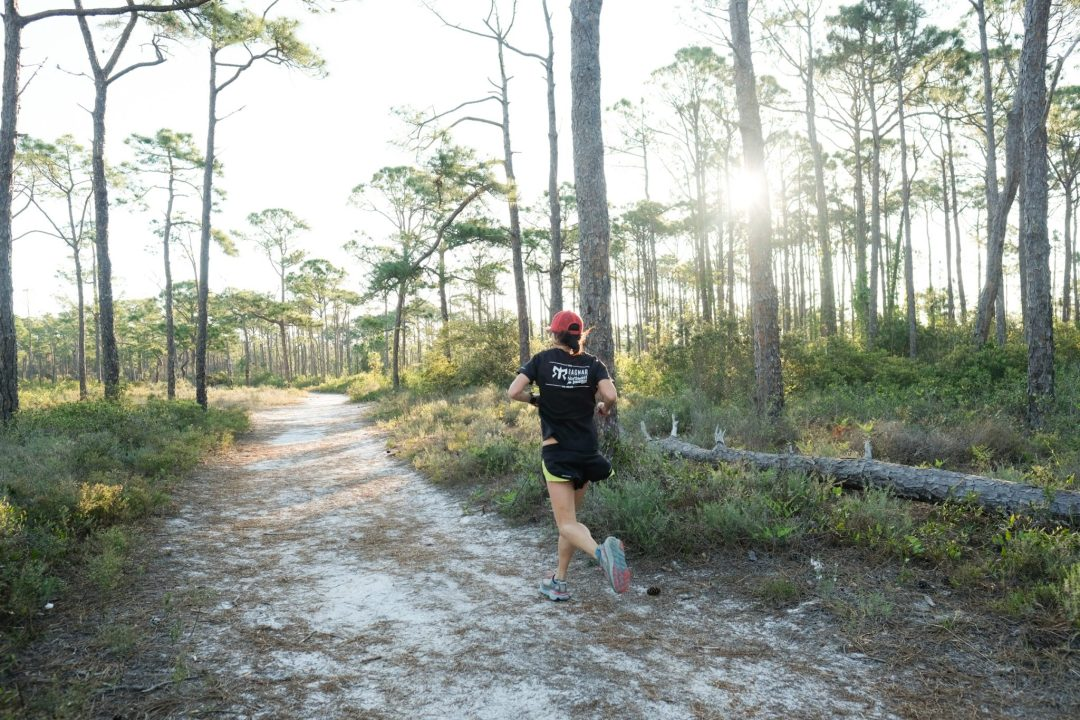 Trail running in Florida