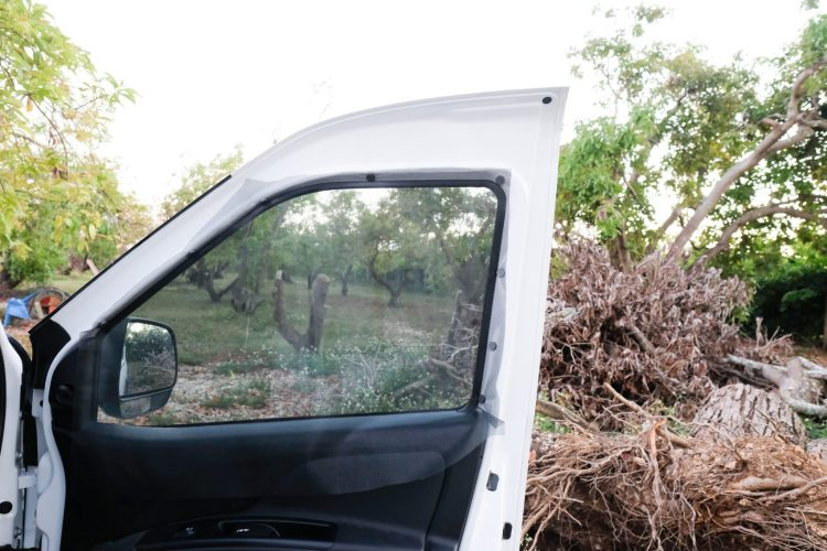 DIY Van Life Screens