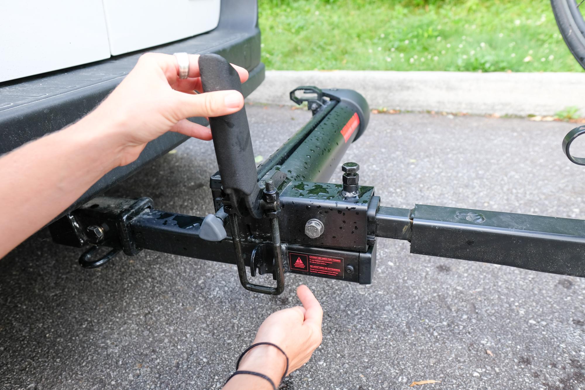 Yakima BackSwing Bike Rack Hitch Extension
