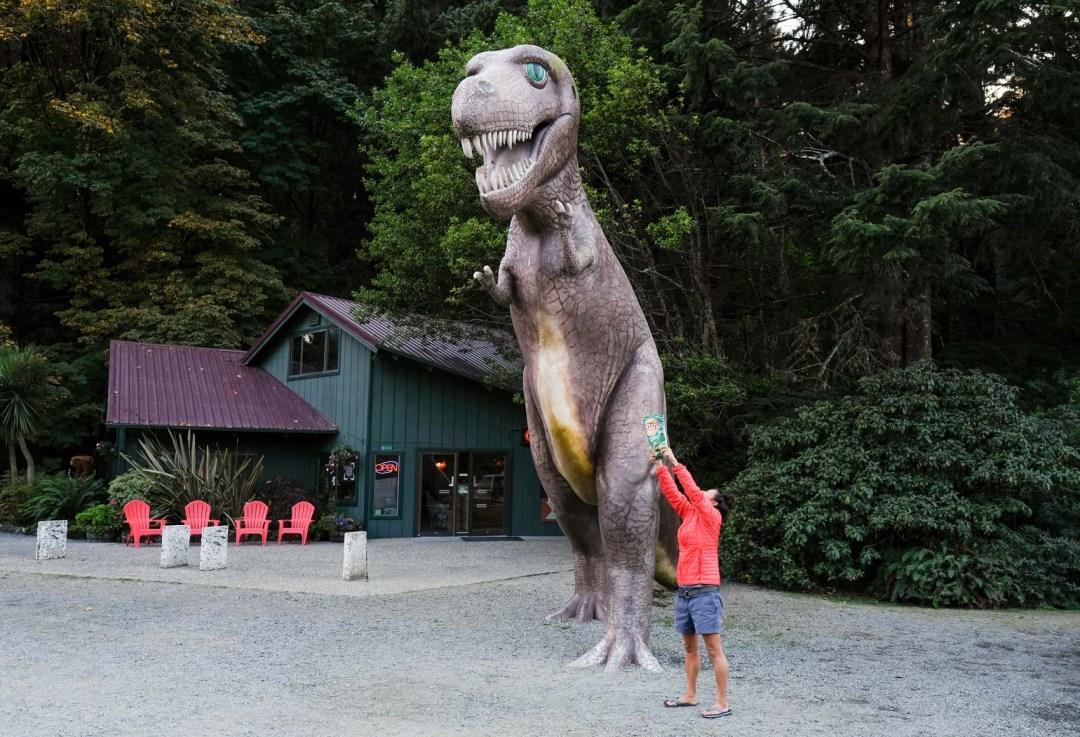 Prehistoric Gardens in Oregon