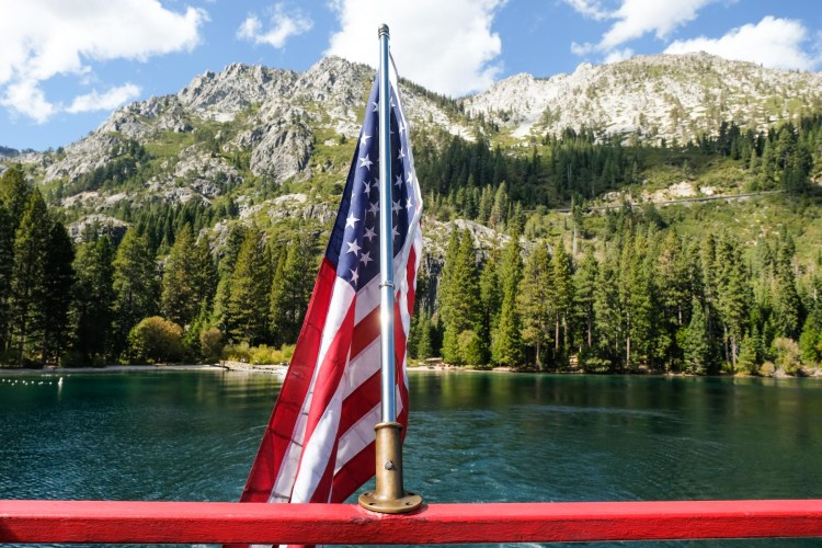 Onboard the M.S. Dixie II in Lake Tahoe!