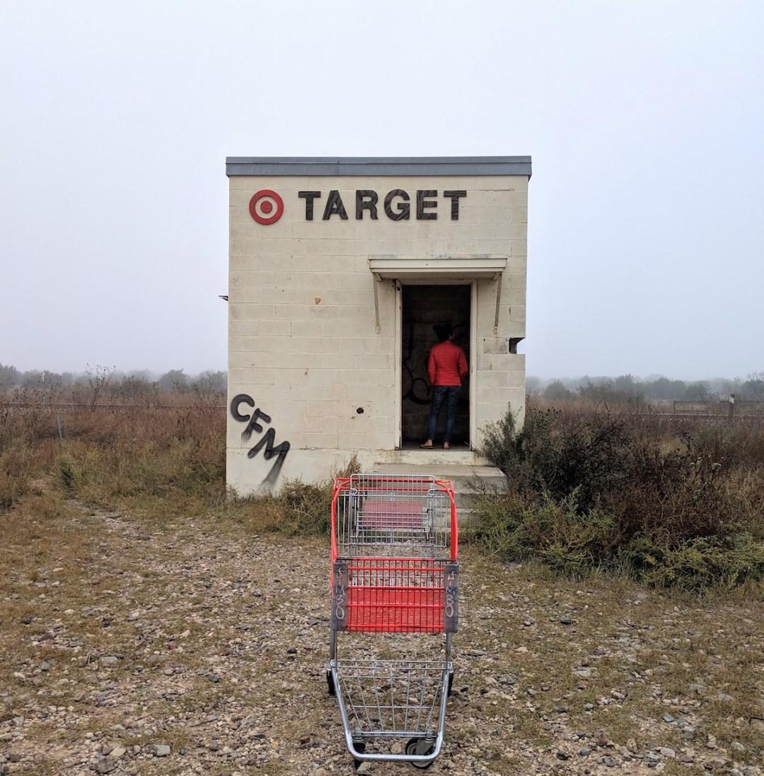Tiny Target, Marathon Texas   Authentic Asheville