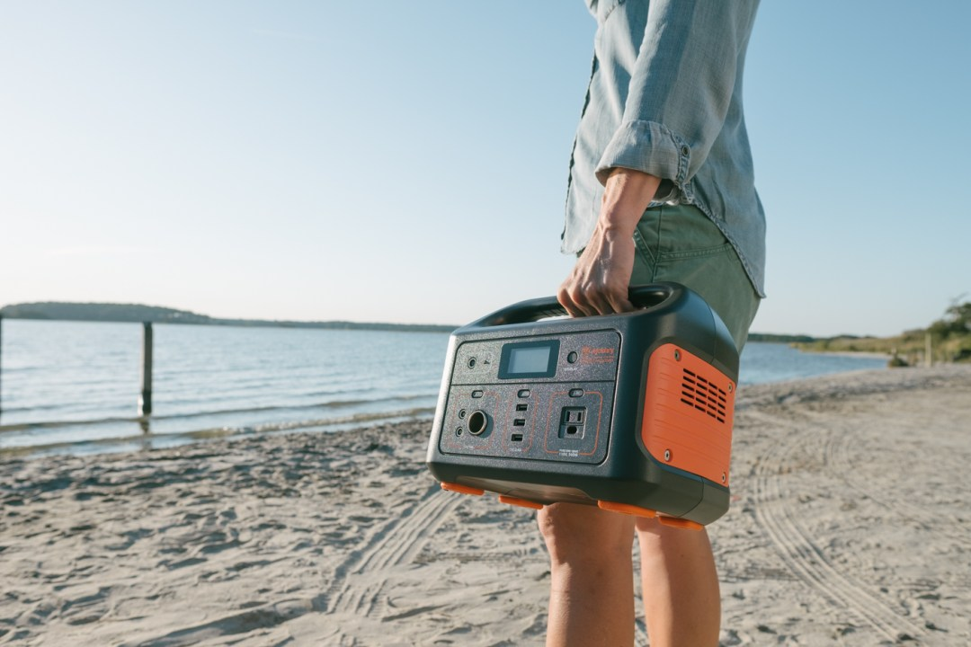 the Jackery Explorer 500 Portable Power Station.