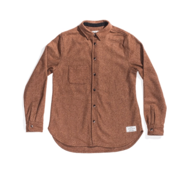 photo of the Anian wool shirt