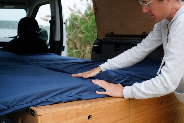 How to make a DIY Van Life Bed