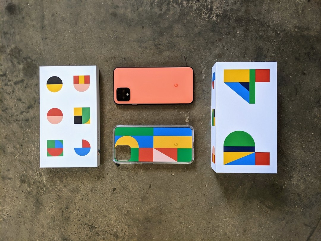 photo of the Google Pixel 4 in Oh So Orange