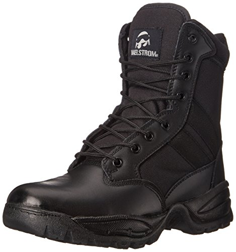 Maelstrom Men's Tac Force 8 Inch Zipper Tactical Boot