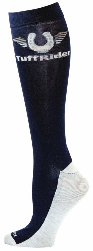 TUFFRIDER Coolmax Adult Boot Socks – Navy