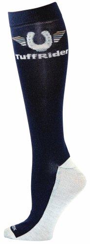 TUFFRIDER Coolmax Adult Boot Socks – Navy