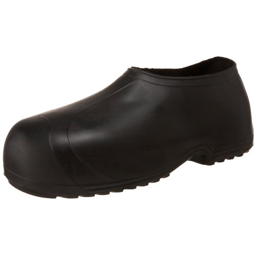 Tingley Men's High Top Work Rubber Stretch Overshoe,Black,L(9.5-11 US Mens )