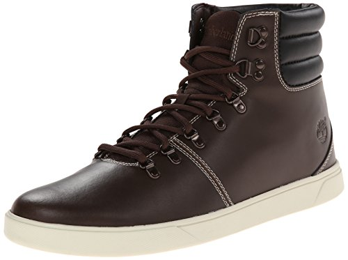 Timberland Men's Groveton Alpine Hiker Snow Boot, Brown Smooth W Black, 9.5 M US